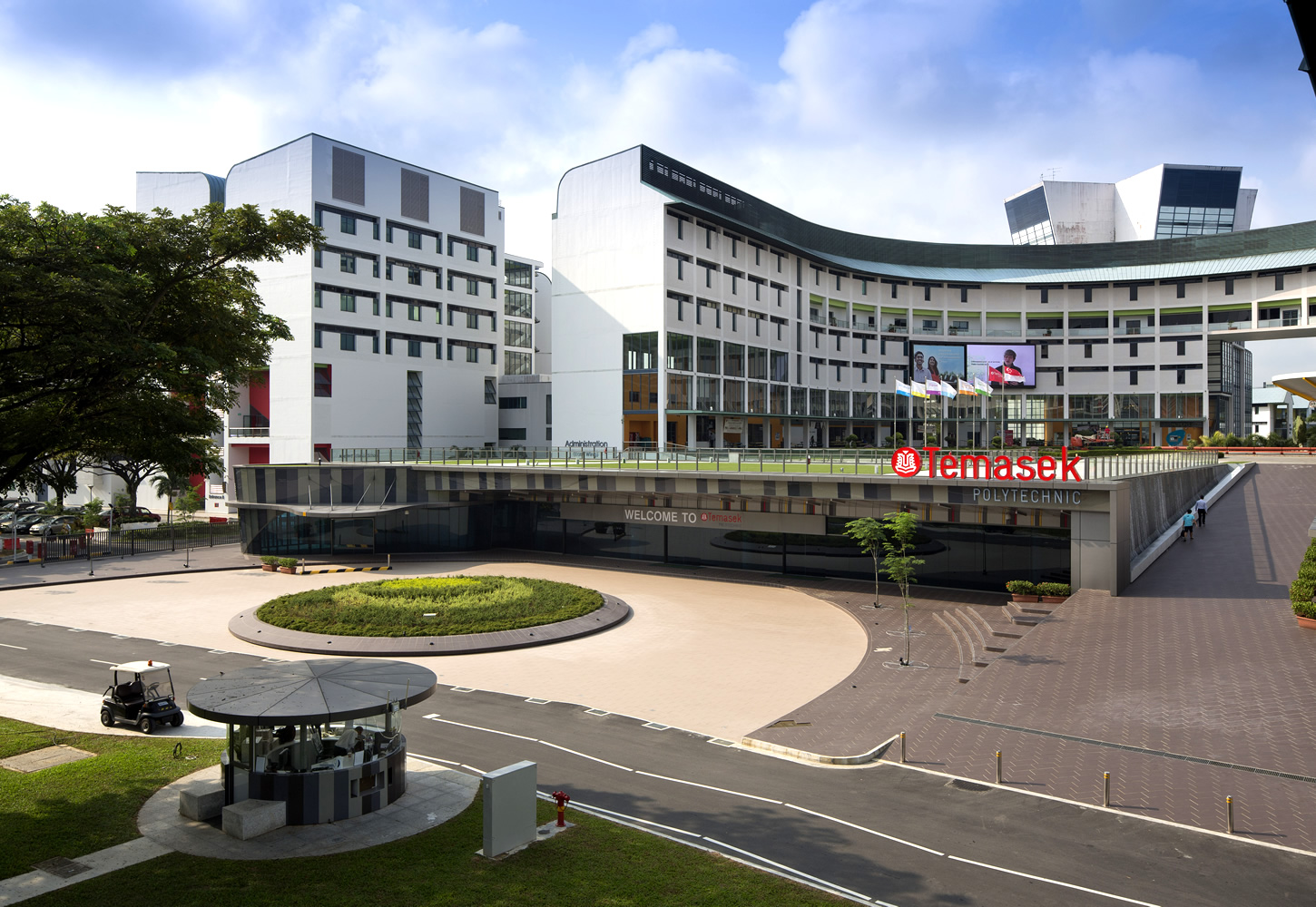Temasek Polytechnic Main Entrance, S'pore